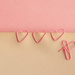 (Day 93) - Paperclip Hearts by cjphoto