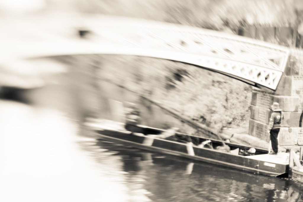 It's another blurry barge by rachelwithey