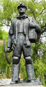 22nd May 2016 - Sculpture - Tribute to the British Miner