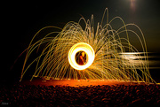 23rd May 2016 - Another steel wool shot at the beach.