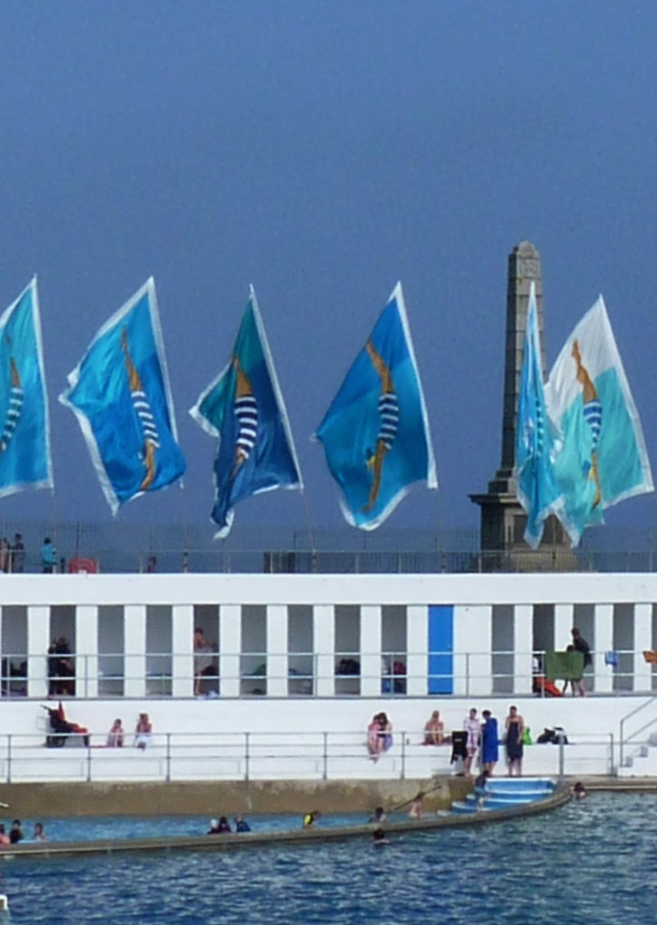 Lido and flags by rubyshepherd