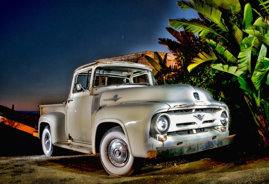 Painting the Truck....With Light by stray_shooter