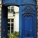 Behind the blue door by parisouailleurs