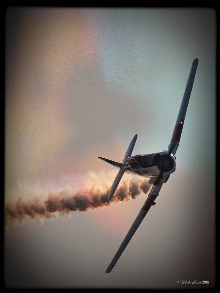 Harvard aeroplane by yorkshirekiwi