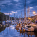 Project 52: Week 23 - Inner Harbour at the Blue Hour by vignouse