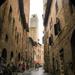 Rain in San Gimignano, Italy by stiggle