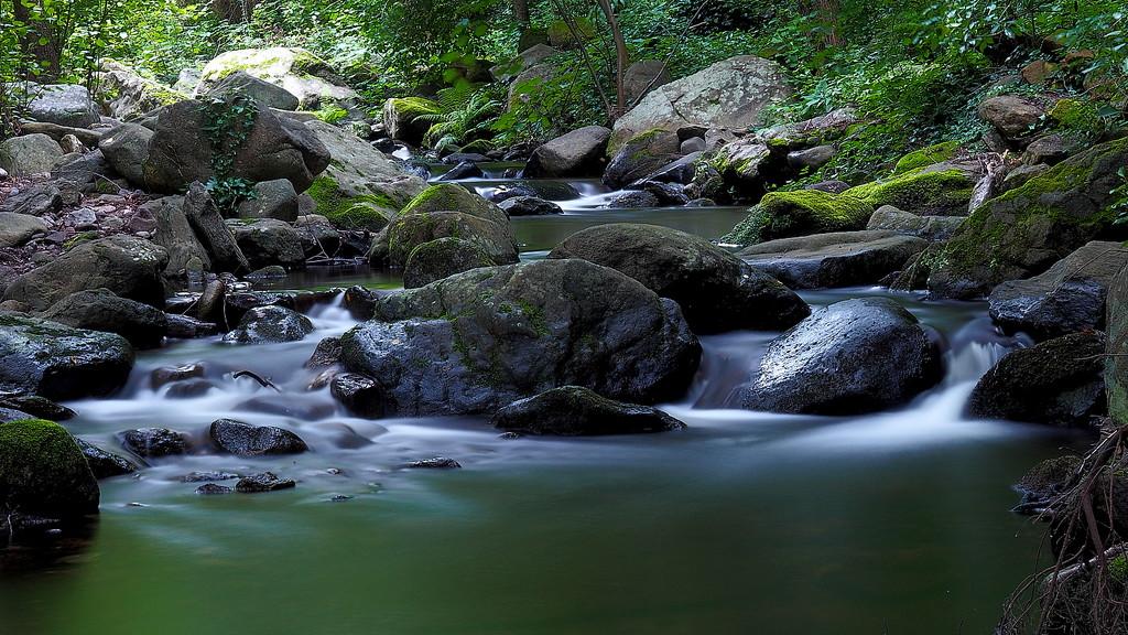 La Roca river after some rain by laroque