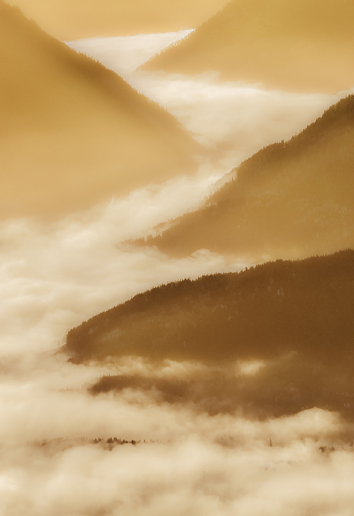 morning light in the mountains by jerome