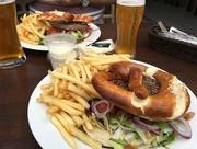 15th Jun 2016 - Pretzel burger