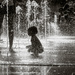 Playing In The Fountain by rosiekerr