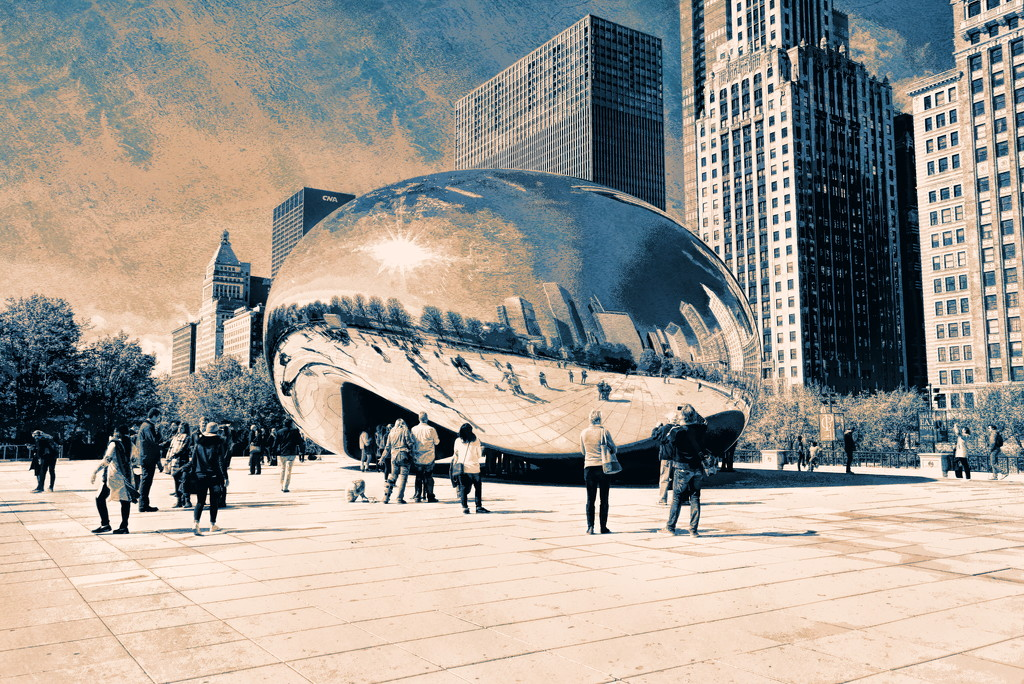 The Bean Chicago  by rosiekind