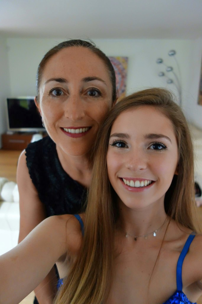 Mother and daughter by cocobella