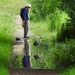 Flooded Path Ironmongers Pond by oldjosh