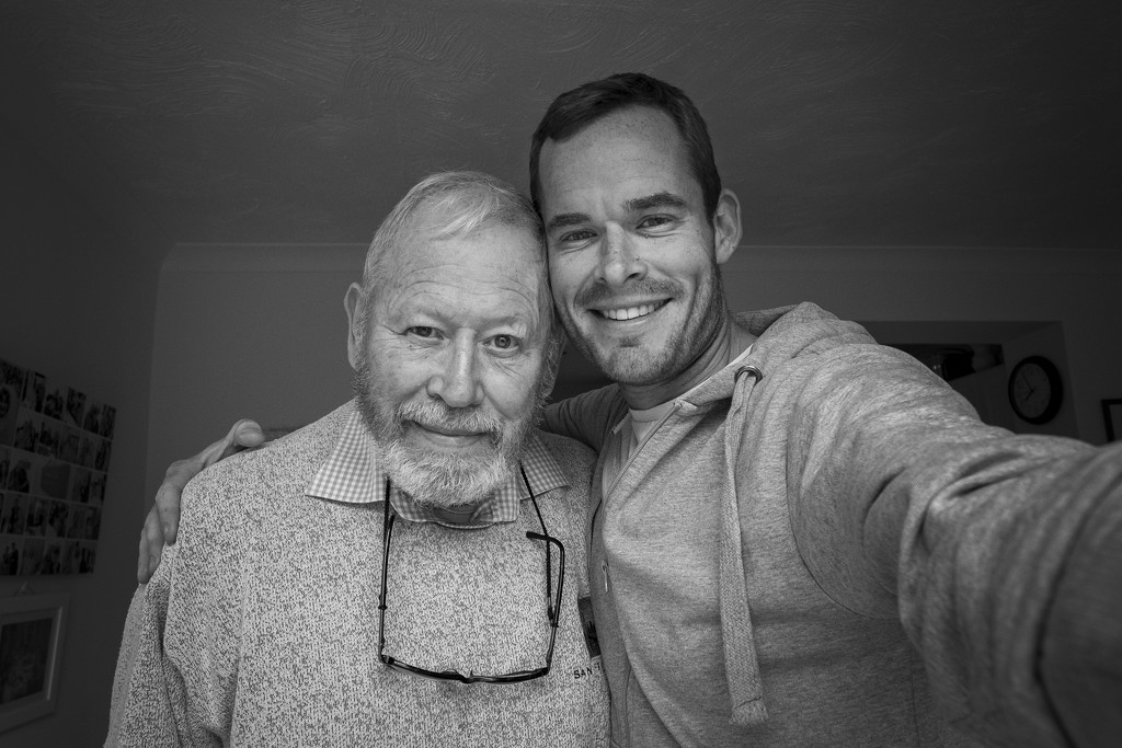 Day 171, Year 4 - Me & My Old Man by stevecameras