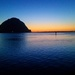 Morro Rock @ Sunset ~ End of An Awesome Day by elatedpixie