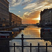 trieste sunset by ianmetcalfe