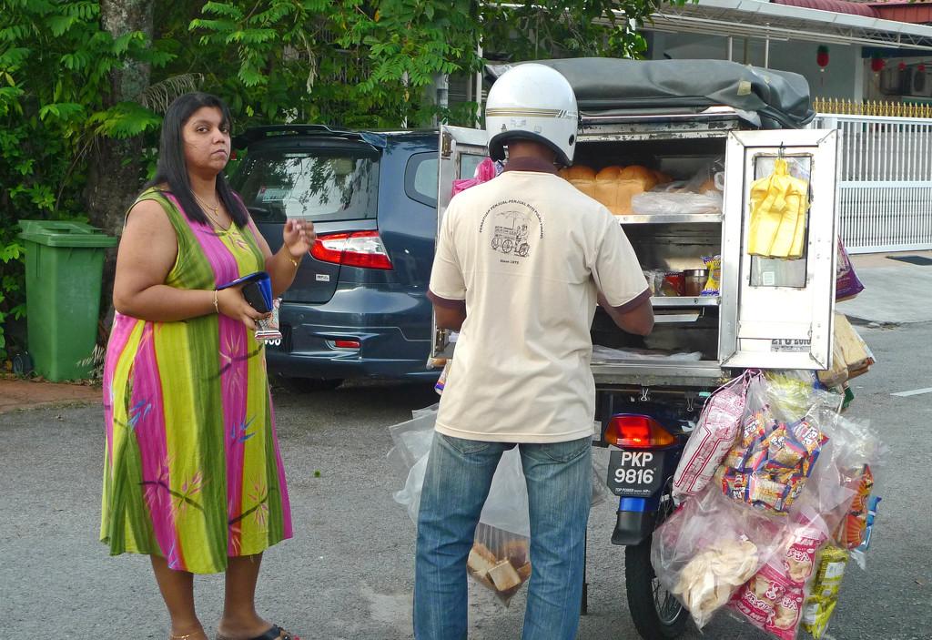 Roti Seller by ianjb21
