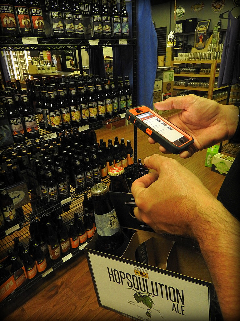 Hi-tech beer shopping by homeschoolmom
