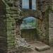 Beyond the stone walls..