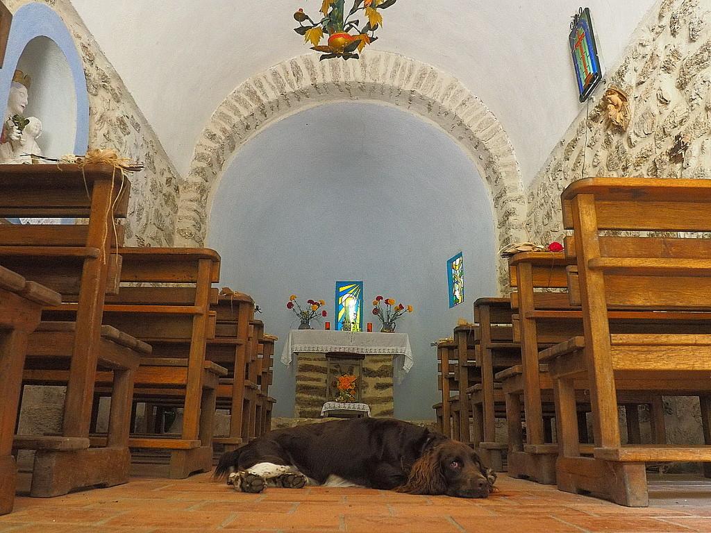 Inside the Chapelle Santa Engracia by laroque