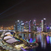 SIngapore Skyline at Night by jaybutterfield