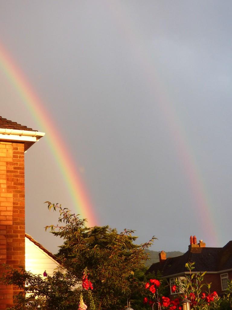 A double rainbow  by beryl