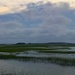 Salt marsh and tidal creeks, Folly Beach, SC by congaree