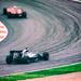 Austrian Grand Prix: Nico Rosberg chases Sebastian Vettel through Turn 5