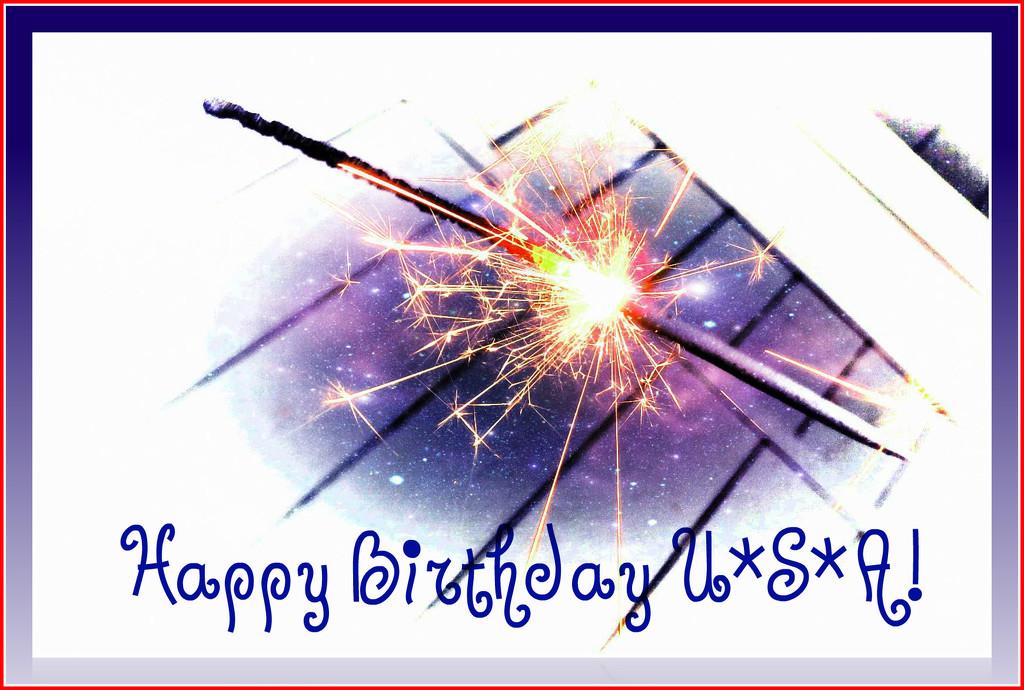 Happy Birthday USA! by olivetreeann