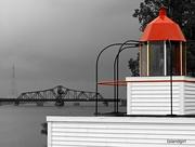 7th Jul 2016 - Swing Bridge and Bird-Cage Lighthouse