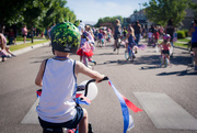 4th Jul 2016 - Riding in the Parade