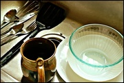 7th Jul 2016 - Dishes in the Sink