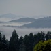 Kerikeri and area covered in low clouds this morning  by Dawn