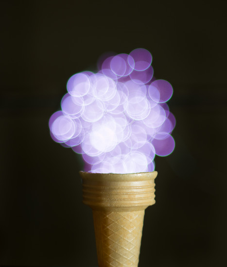Cone of lights by bella_ss