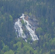 2nd Jun 2016 - Waterfall in the Saguenay Fjord