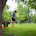 Slacklining in the park