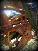18th Jul 2016 - Rusty Gears in the Sunlight
