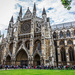 Westminster Abbey & a few tourists by pusspup
