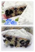 22nd Jul 2016 - Blueberry Zucchini Cake with Lemon Butter Cream Icing