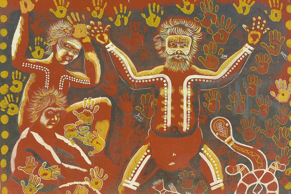 Aboriginal art by leggzy
