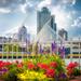 Flowers and Calatrava by myhrhelper