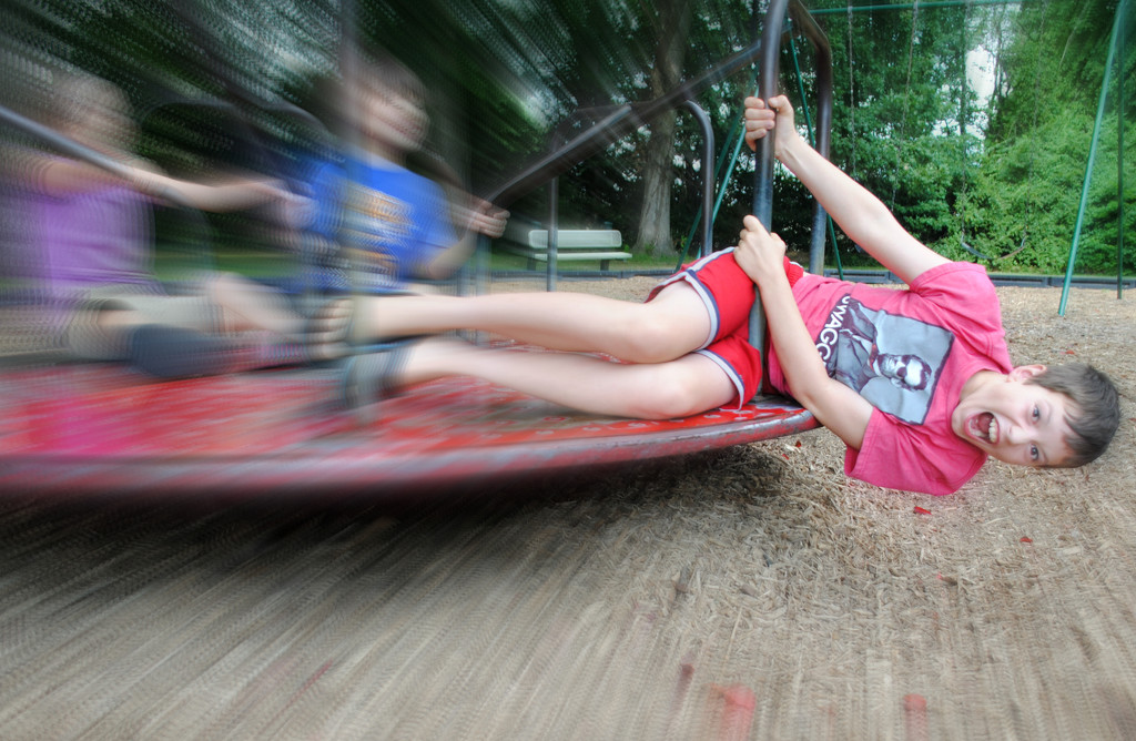 Merry Go Rounds Make Me Woozy by alophoto