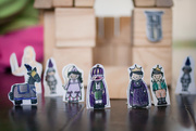 30th Jul 2016 - Wooden Block Castles and Paper Dolls