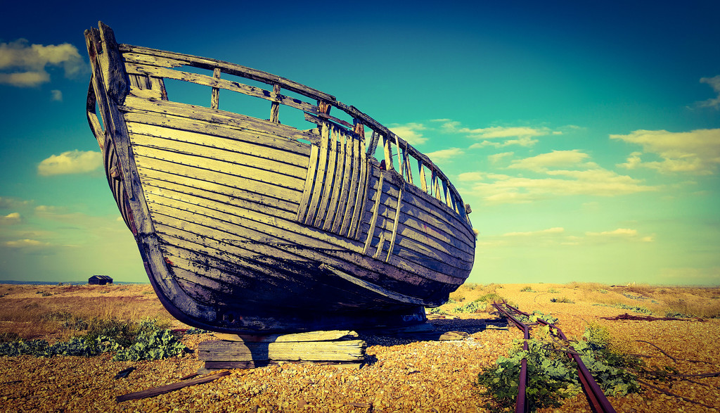 Boat - Dungeness  by iowsara