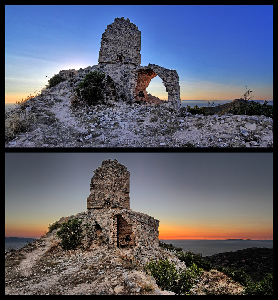 The Tower of Capo d'Uomo by spectrum