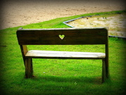 1st Aug 2016 - Heart bench