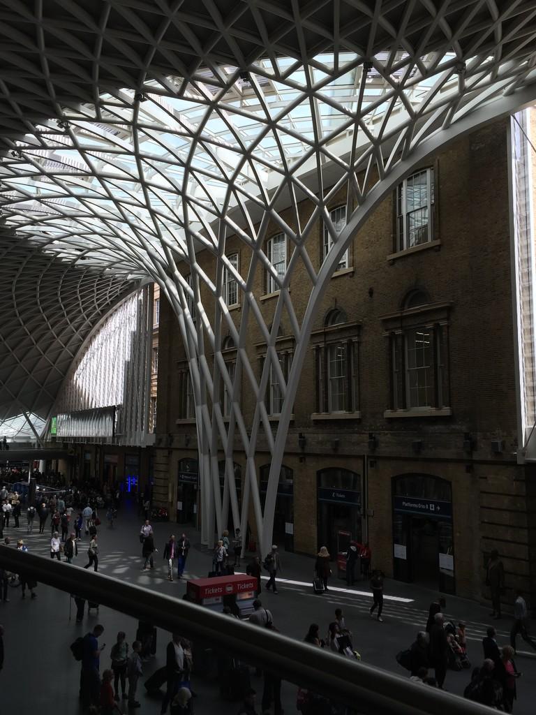 King's Cross Station by gillian1912