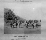 2nd Aug 2016 - Old print. Bombay Gymkhana Polo Team - winners in 1885.