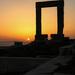 Sunset on Naxos by flyrobin