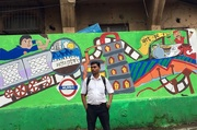6th Aug 2016 - Street Mural
